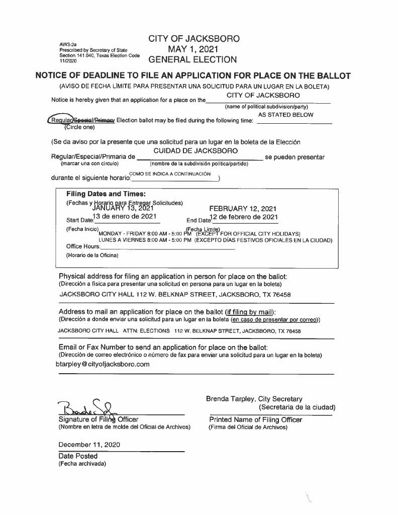 Notice of Deadline to File an Application For Place on the Ballot AW3-2a1024_1 (1)